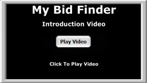 my bid finder introduction video